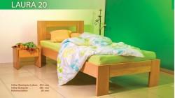 postel LAURA 20 buk prírodný