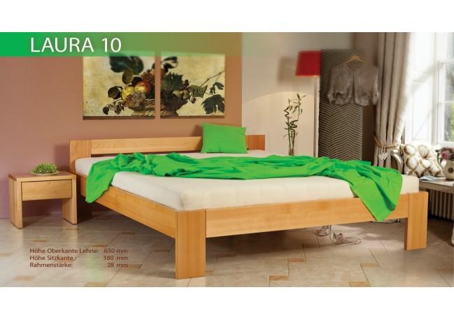 postel LAURA 10 buk prírodný