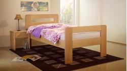 postel LAURA 21 buk prírodný