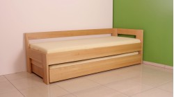 postel LAURA 10_D buk prírodný
