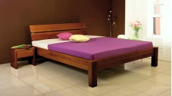 postel MARK 3 buk morený na orech