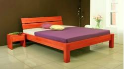 postel MARK 3 buk morený na hrusku