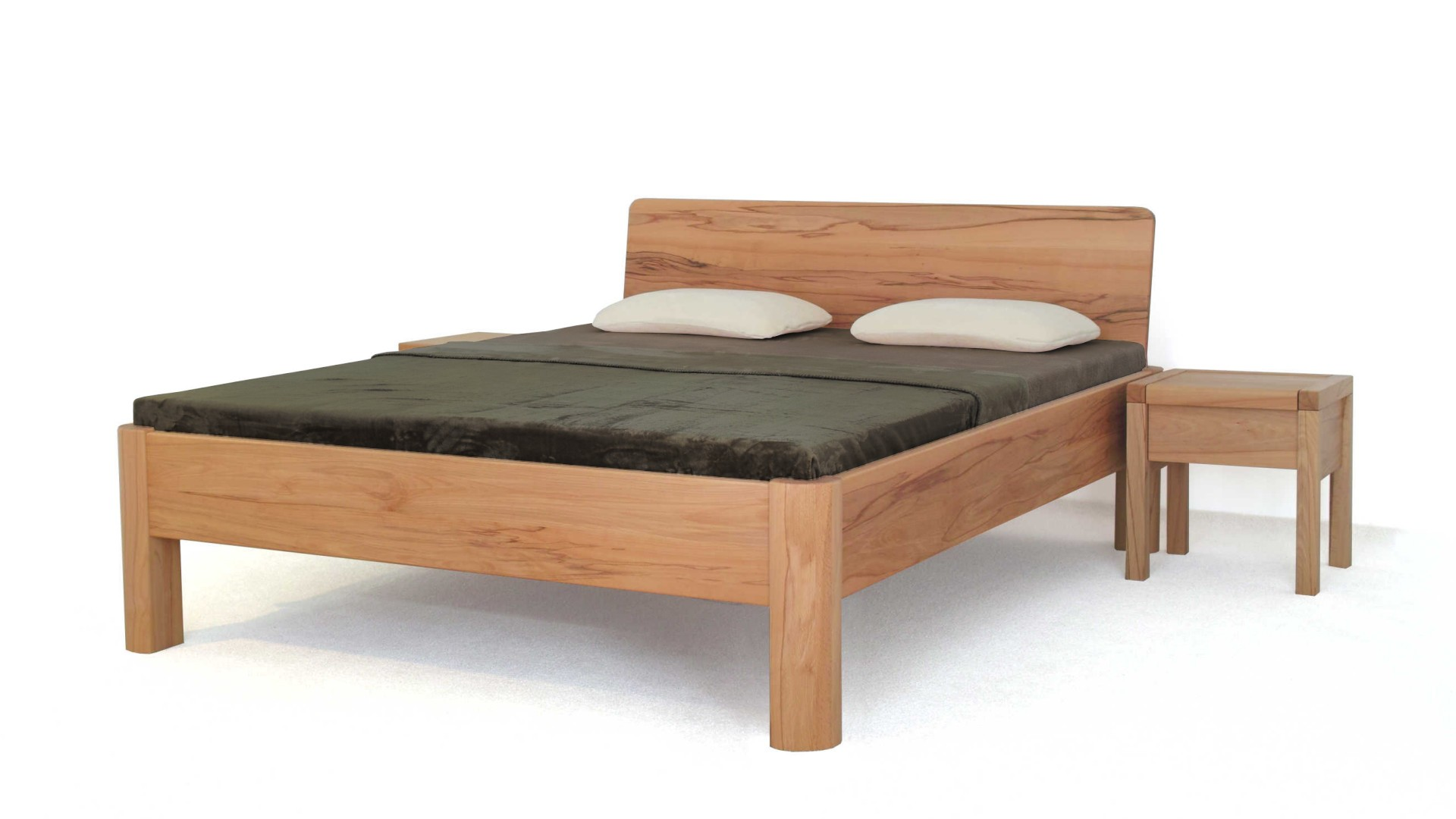 exkluzívna postel 100% masív